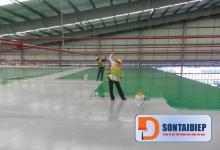 Quy trình thi công sơn Epoxy sơn sàn nhà - tiết kiệm chi phí tại Sơn Tài Điệp