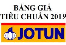 Bảng báo giá sơn JOTUN mới nhất 2019