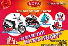 Chương trình Tri ân khách hàng Kova 2020