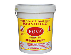 Sơn giả đá Kova KSP- Gold Vẩy Trung 20kg
