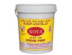 Sơn giả đá Kova KSP- Gold Vẩy Trung 4kg