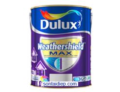 Sơn Ngoại thất Dulux Weathershield MAX chống thấm (5L)