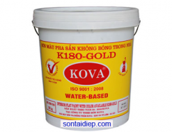 Kova K-180 Sơn màu pha sẵn trong nhà không bóng 20kg