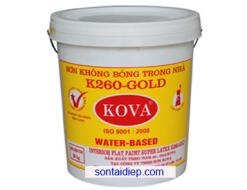 K-260 Sơn nước trong nhà không bóng - trắng mịn 20kg