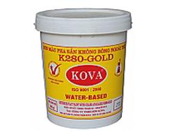 Sơn màu pha sẵn ngoài trời màu đậm K280 -  GOLD (20kg)