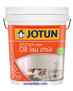 Sơn Jotun Strax Matt Dễ Lau Chùi 17l