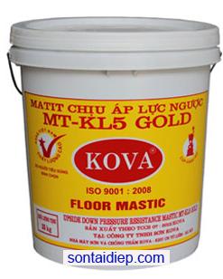 Kova Matit MT-KL5 Gold chịu mài mòn loại mịn 5kg